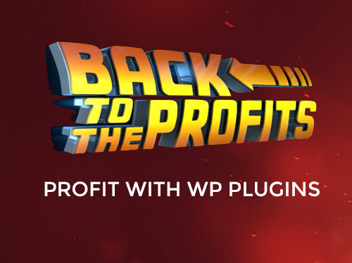back to the profits