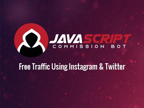Javascript commission bot